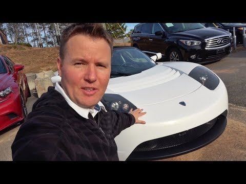 Don't Buy a Wrecked Tesla Roadster!