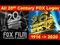 20th Century FOX ALL Intros 1914 2020 Fox Film To 20th Century Studios Before Name Change mp3
