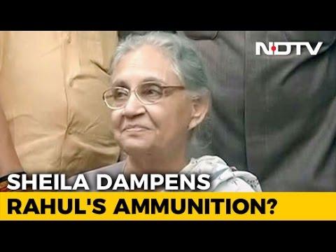Sheila Dikshit Junks 'Sahara Diaries'; Blunts Rahul Gandhi's Attack On PM Modi