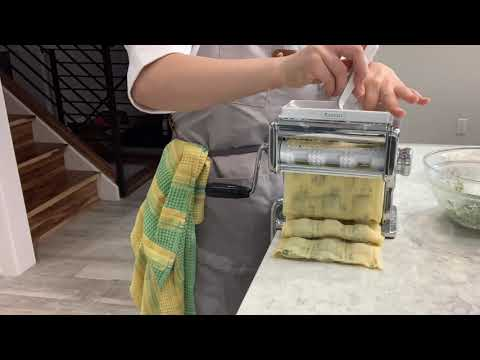 How to Make Ravioli with Marcato Atlas 150 & Ravioli Attachment