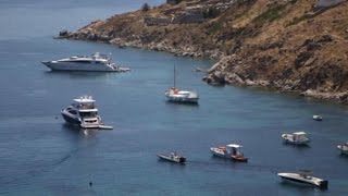 Why the Champagne Keeps Flowing in Mykonos