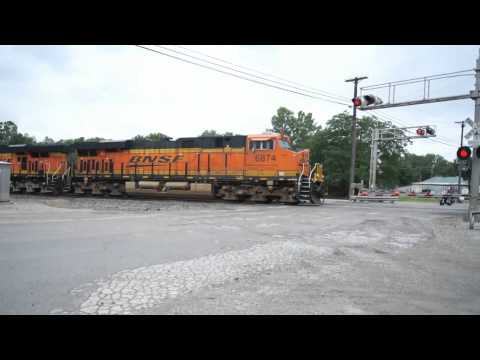 BNSF Stack Carrollton Missouri