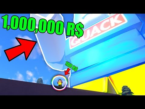 WHAT HAPPENS WHEN YOU HIT 1000000 ROBUX? *GAME CRASHES* (Roblox Robux Simulator)