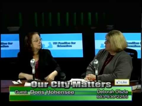 OUR CITY MATTERS - Doris Hohensee - NH Families For Education 10-5-15