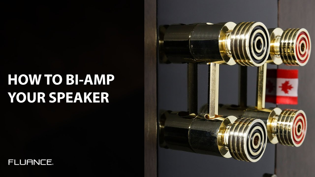 how to bi amp your fluance home theater speakers for the best home audio  experience