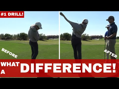 Milo Lines and Dr. Scott Lynn, BEST DRILL FOR ROTATION in GOLF! Be Better Golf