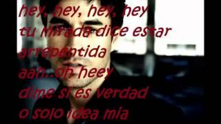 Ayer-Enrique Iglesias ft. Voz de Mando[[2011]]..con letraa  . Espinoza Paz