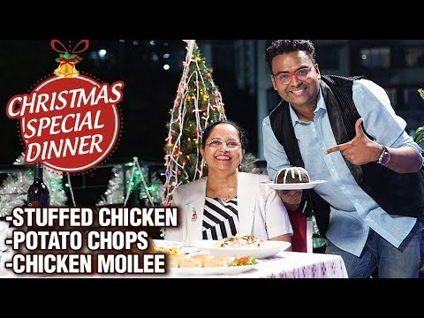 Traditional Christmas Dinner Recipes - Varun Inamdar - Christmas Meal Preparation