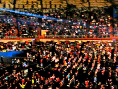 David Crowder Band rocking the house - Freeman Coliseum in ... Joe Freeman Coliseum