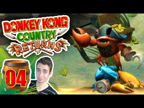 Donkey Kong Country Returns : Cœur de pirate | Ep.04 - Let's Play