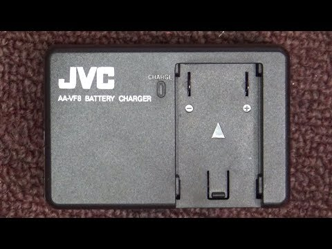 Repairing A JVC Video Camera AA-FV8 Battery Charger