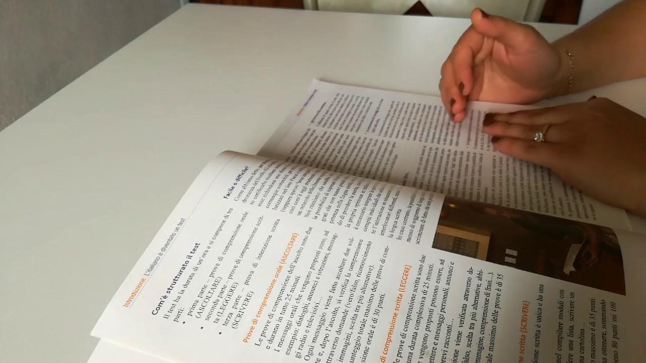 امتحان اللغة الايطالية بالتفصيل الممل per carta di ...