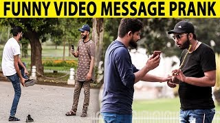 Funny Video Message Prank on Strangers - Lahori PrankStar