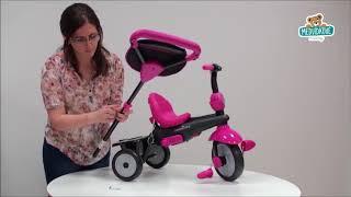 Dětská tříkolka Swing 4v1 Grey TouchSteering s tlu