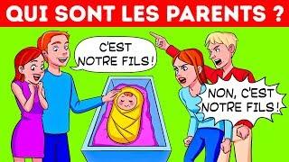 PEUX-TU RÉSOUDRE CES 13 ÉNIGMES POPULAIRES POUR ENFANTS ET ADULTES ?
