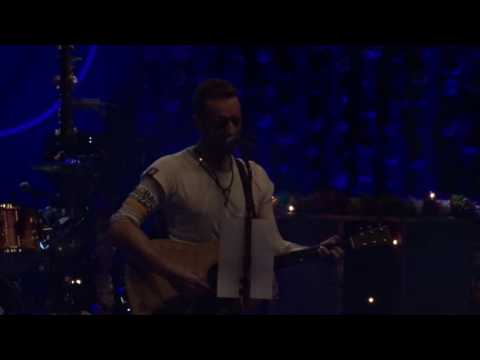 Coldplay _ London Palladium _ Suzanne (Leonard Cohen Tribute)
