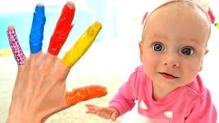Семья пальчиков- Детская песня. Песни для детей от Майи и Маши