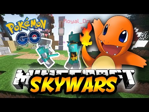 POKEMON In MINECRAFT SKYWARS