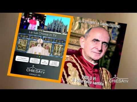 Le giornate della canonizzazione di Montini: Primi Vespri