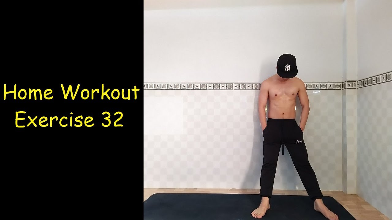 Home Workout No Equipment – Full Body Workouts for Beginners – HIIT 32
