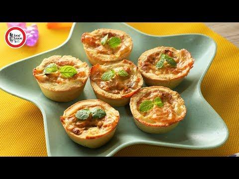 Mini Chicken Quiche Recipe by Food Fusion Kids