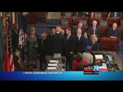 113th Congress sworn in
