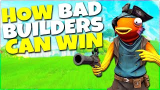 How Bad Builders Can Get Easy Wins In Fortnite! Season 9 Tips