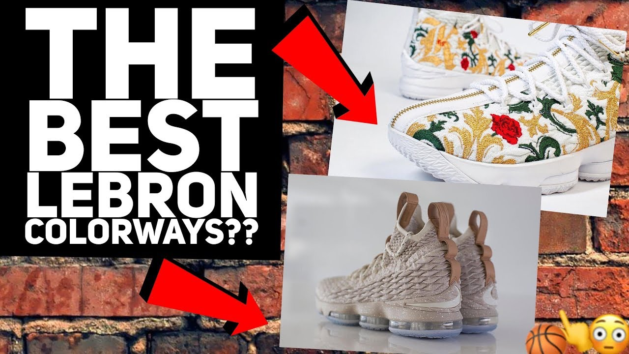 da3359e5728f THE BEST LEBRON COLORWAY   LEBRON 15 KITH COLLAB + GHOST COLORWAY ...