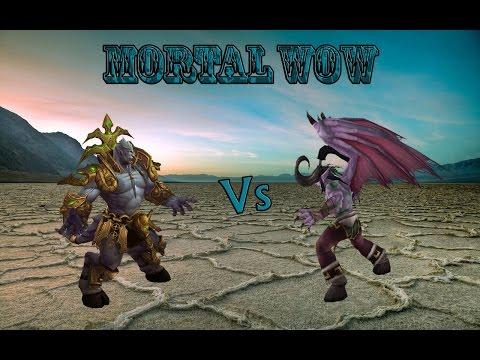 Архимонд против Иллидана MORTAL WOW