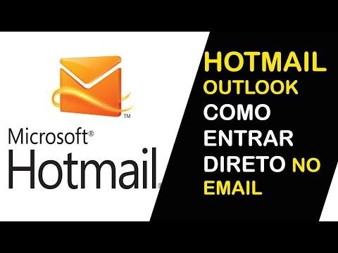 HOTMAIL ENTRAR DIRETO AGORA NO SEU EMAIL OUTLOOK