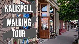 Kalispell Montana Downtown Walking Tour