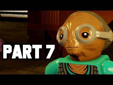 MAZ'S CASTLE!! LEGO Star Wars The Force Awakens Gameplay Walkthrough Part 7