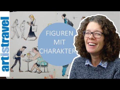 Nicola Maier-Reimer Zeigt Wie Man Figuren Mit Charakter Zeichnet