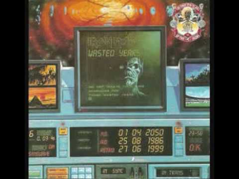 Iron Maiden   Wasted Years   Stranger in a Strange Land , EP
