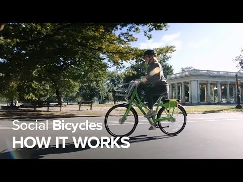 Social Bicycles - How it works
