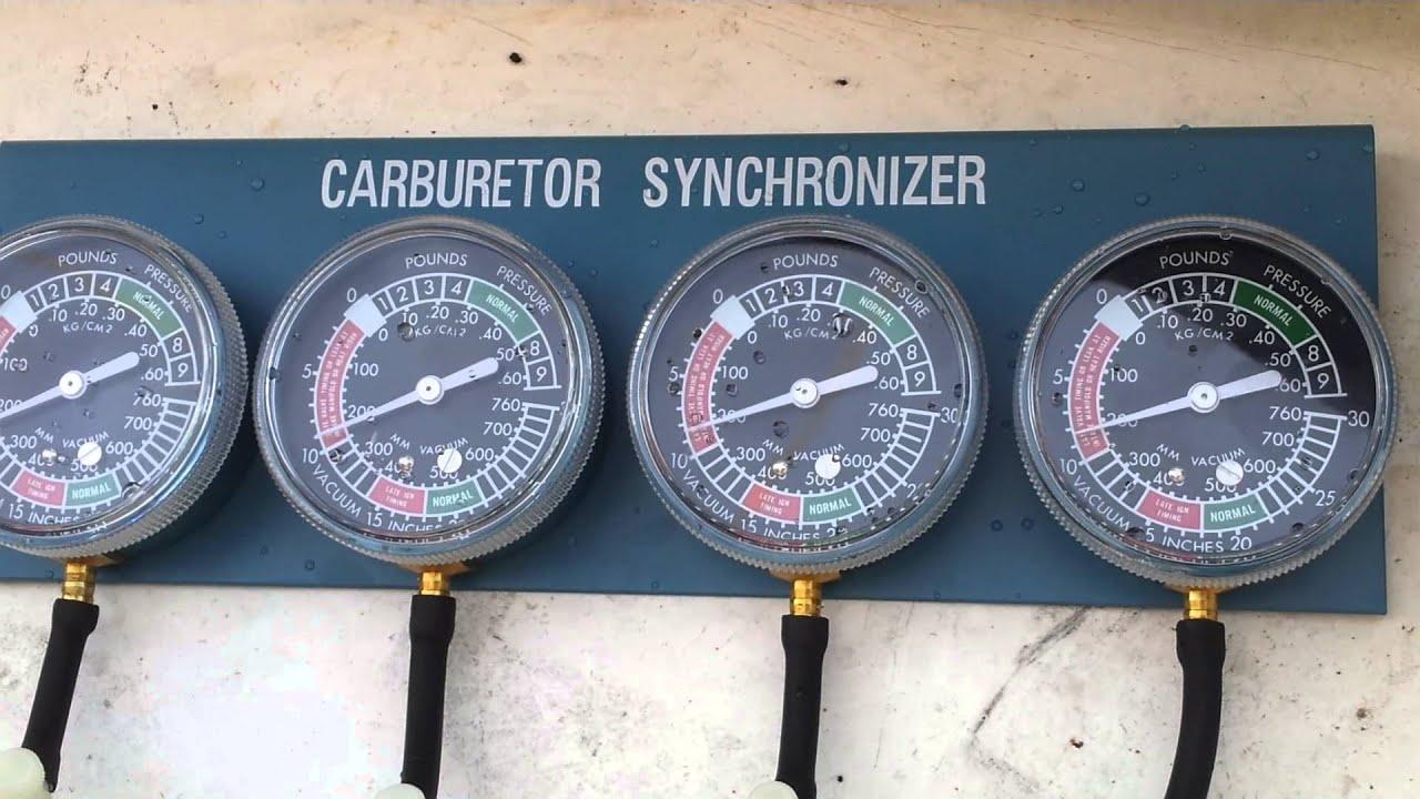 Yamaha Outboard Carburetor Synchronizer