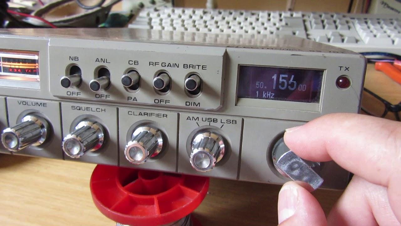 CB Radio + Arduino = 6 Meter Ham Band | Hackaday