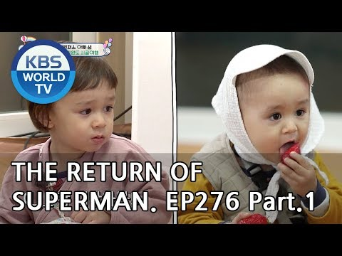 The Return Of Superman | 슈퍼맨이 돌아왔다 - Ep.276: Do Whatever You Want To Do Part1[ENG/IND/2019.05.12]