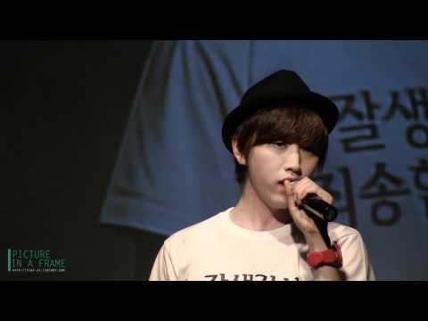 120318 SanDeul Day - 짝사랑 (sandeul solo)