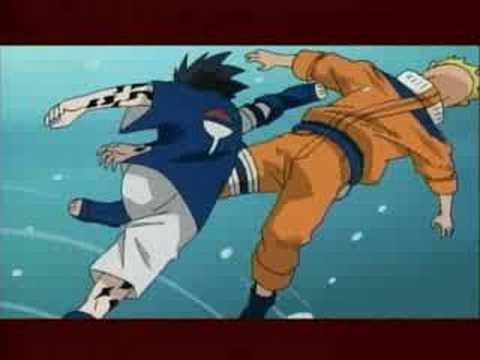 Naruto Vs Sasuke- Hunting High And Low -stratovarius - AMV