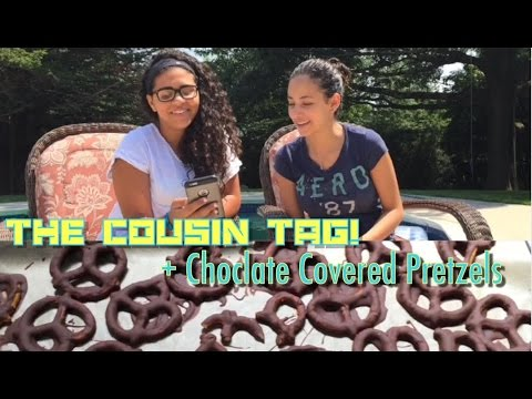 Download The Cousin Tag! ft. Michelle + DIY Choclate Covered Pretzels
