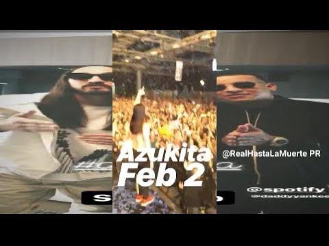 Steve Aoki ✨ -Azukita LIVE en Israel (Nueva tema de daddy yankee)