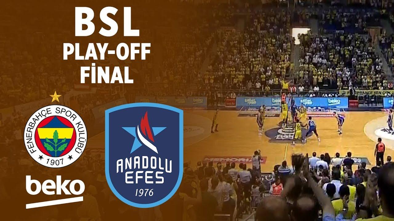 BSL Play-Off Final 6. Maç Özeti | Fenerbahçe Beko 85-69 Anadolu Efes