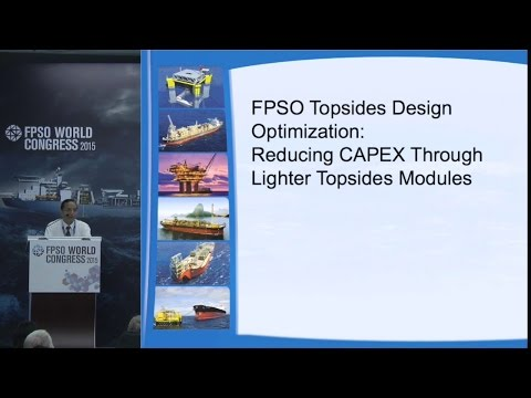 FPSO Topsides Design Optimization Reducing CAPEX Through Lighter Topsides Modules
