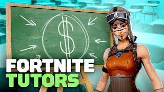Fortnite Tutors: Pouvez-vous payer pour obtenir le bien? (feat. TheGeekChick) - Fortnite Show Ep. 6