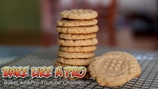 Gluten Free Peanut Butter Cookies Recipe / Flourless Peanut Butter Cookie Recipe