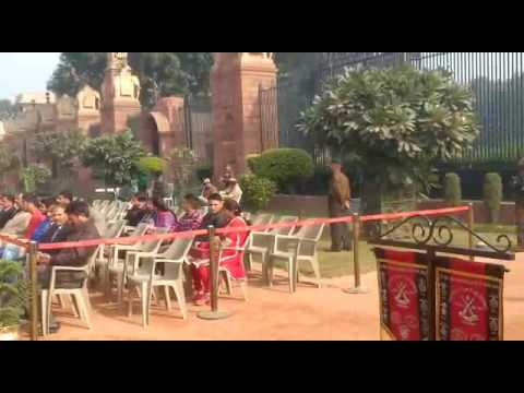 Change of Guard's Ceremony at Rashtrapati Bhavan in New Delhi