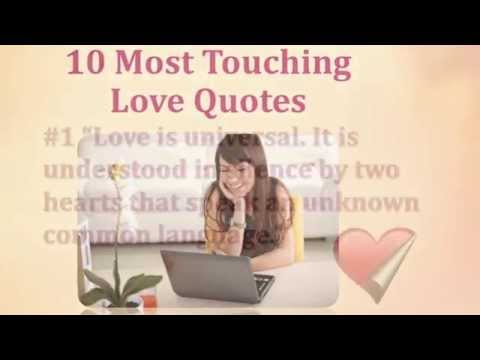 10 Most Touching Love Quotes