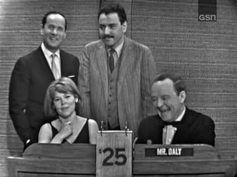 What's My Line?  Eli Wallach, Anne Jackson & Alan Arkin; William Shatner panel Mar 14, 1965