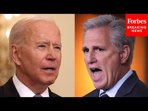 "JUST IN: Kevin McCarthy Slams ""Biden-omics"" For Ruining America & ""Making Enemies Stronger&"